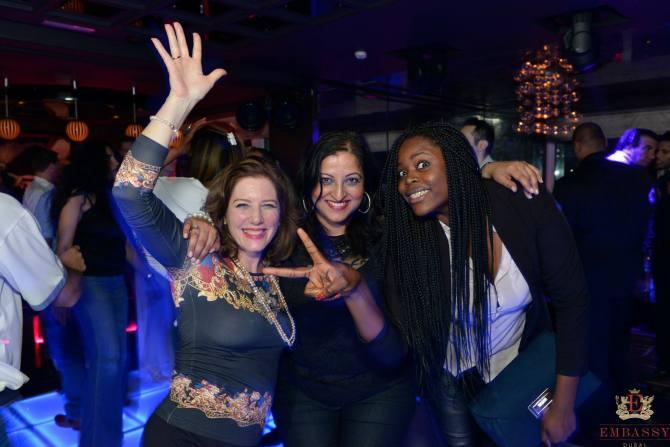 Just having fun.... Dubai dancers