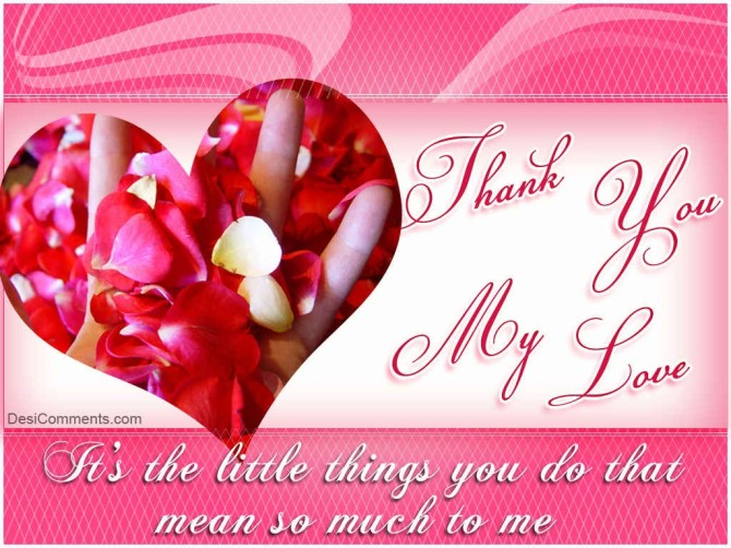 Thank you Rose petal hands