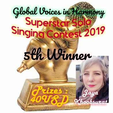 5th Place Global Voices Smule 2019