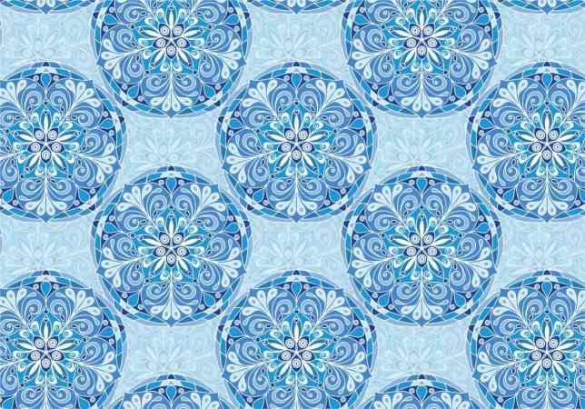 blue-vector-colorful-mandala-pattern
